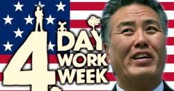 ہفتے میں تین چھٹیاں، چار دن کام؛ امریکی کانگریس میں قانون پیش