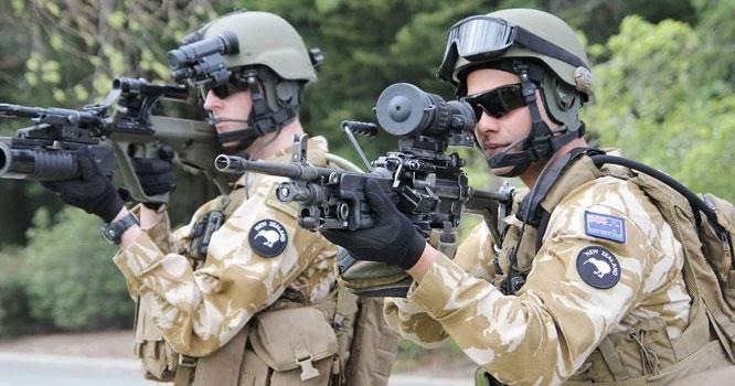 نیوزی لینڈکی کل فوج کتنی ہے؟